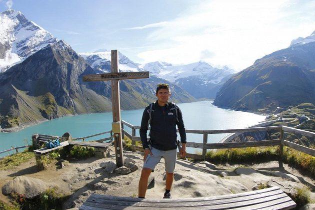 Martin Prokop při soustředění v rakouském Kaprunu.