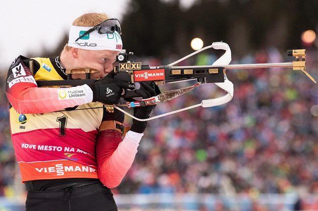 Norský biatlonista Johannes Bö byl velkým odpůrcem supersprintu v Oslu.