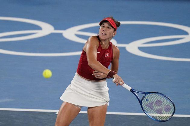 Belinda Bencicová ve finále tenisového olympijského turnaje