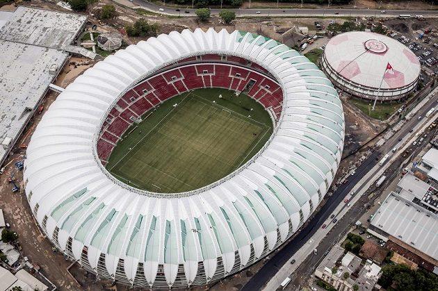 Estádio Beira-Rio v Porto Alegre je domovským stánkem Internacionalu SC.