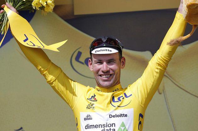 Mark Cavendish, vítěz úvodní etapy letošního ročníku Tour de France.