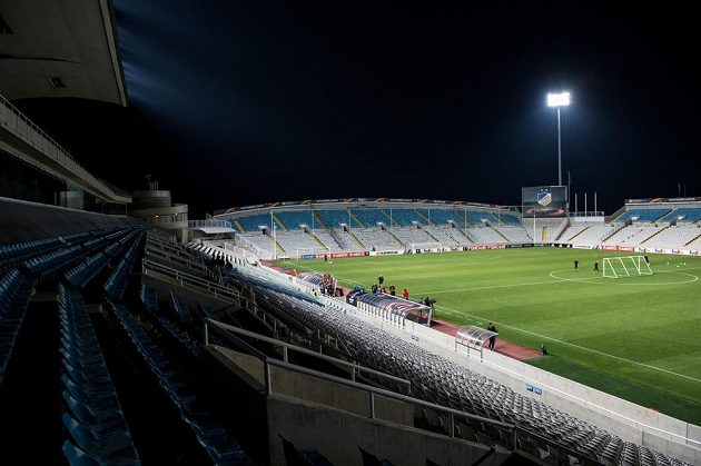 Stadión GSP v kyperské Nikósii.