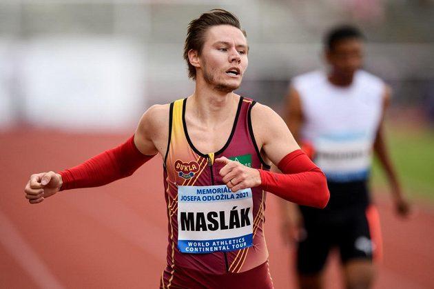 Pavel Maslák během Memoriálu Josefa Odložila.