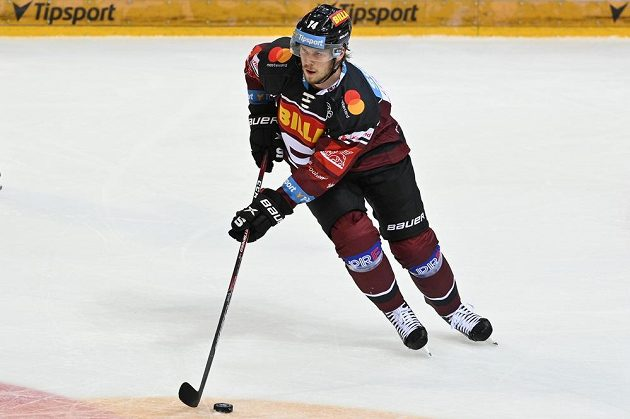 Filip Chlapík ze Sparty.