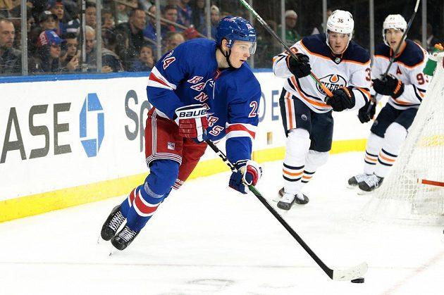 Finský talent Kaapo Kakko poprvé skóroval v dresu New York Rangers v NHL.