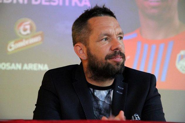 Pavel Horváth prezentoval podobu své fotbalové rozlučky.
