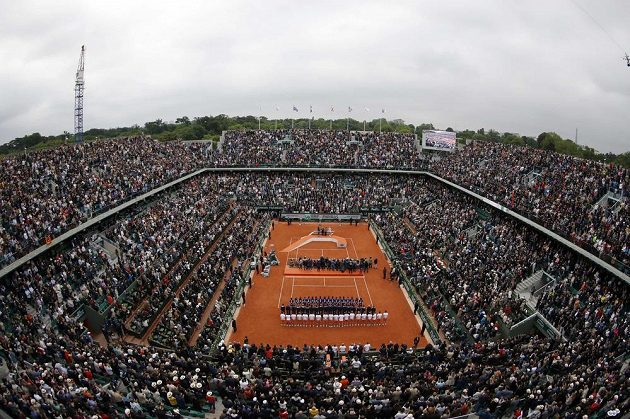 Kurt Philippa Chatriera po skončení finále ženské dvouhry na Roland Garros.