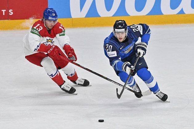 Zleva Jakub Vrána a Fin Niko Ojamäki.