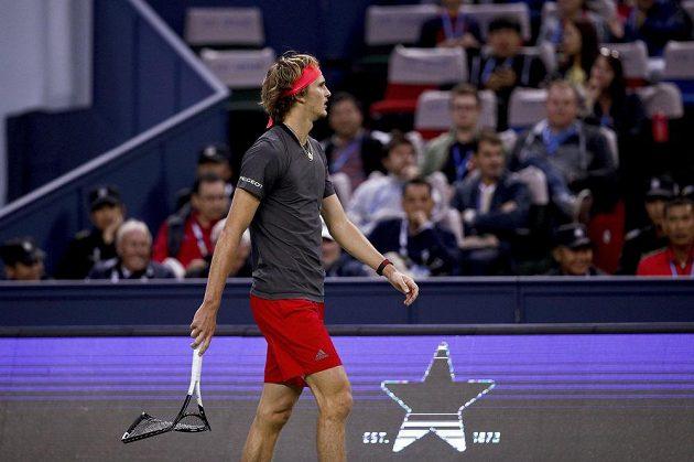 Alexander Zverev neměl v utkání žádnou šanci
