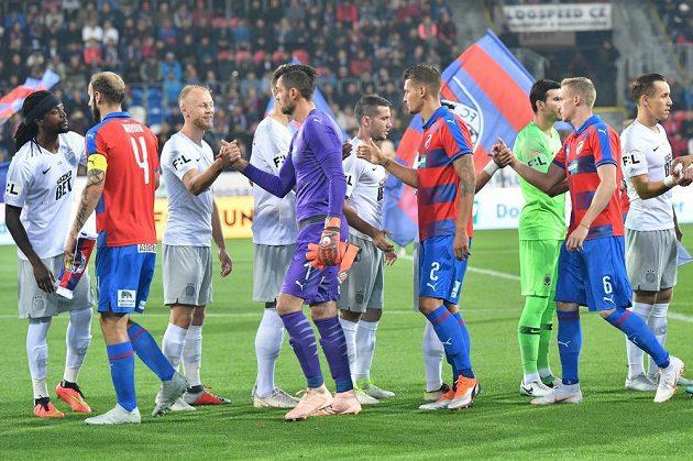 Šlágr fotbalové ligy Viktoria Plzeň - Sparta Praha.