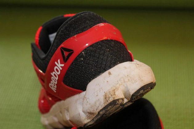 Reebok Hexaffect Run 4.0: Nafouklá mezipodešev dává botě vzhled vznášedla.