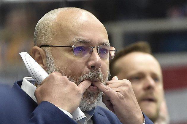 Trenér Brna Jiří Kalous.