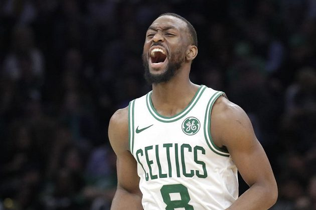 Hvězda týmu Boston Celtics Kemba Walker.