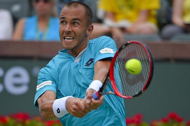 Lukáš Rosol favorizovaného krajana v Indian Wells potrápil.