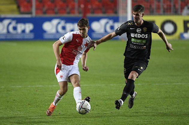 Slavia bojovala o ligové body se Zbrojovkou