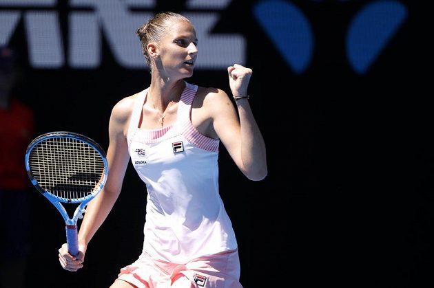 Bravo! Karolína Plíšková postoupila na Australian Open do semifinále.
