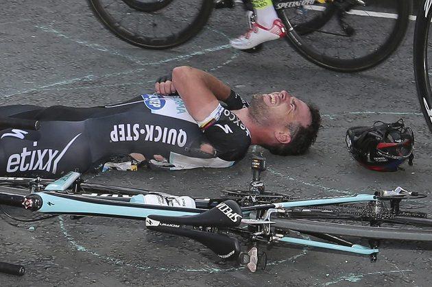 Mark Cavendish skončil po pádu s letošní Tour už v první etapě.