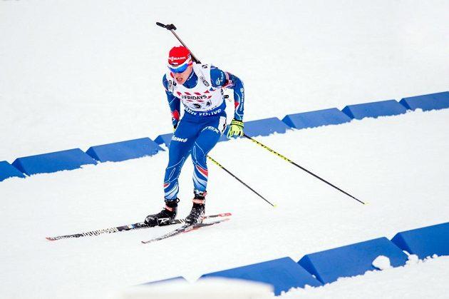 Michal Krčmář se jako finišman smíšené štafety na MS v Oslu osvědčil.