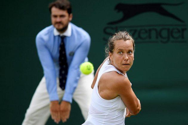 Barbora Strýcová předvedla ve Wimbledonu neskutečný obrat duelu s Belgičankou Elise Mertensovou.
