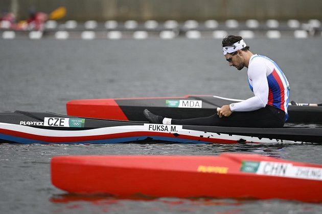Nevyšlo to, rychlostní kanoista Martin Fuksa v Tokiu medaili ve finále na 1000 m nezískal.