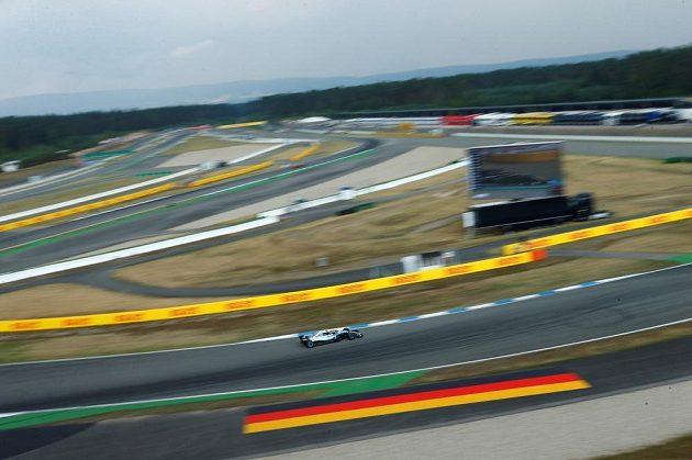 Velká cena Německa formule 1 na okruhu v Hockenheimu.