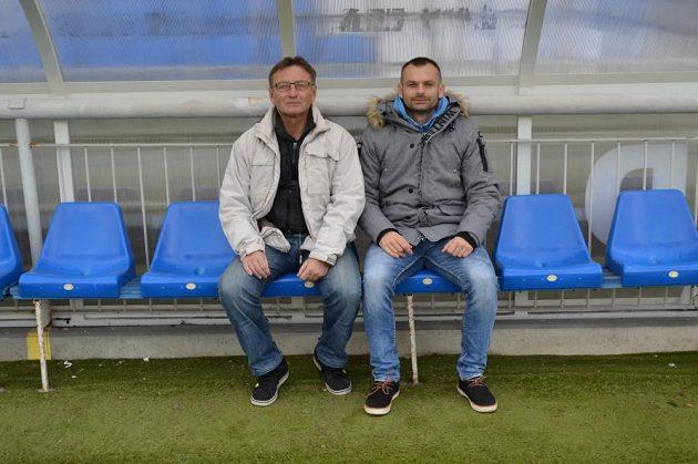 Josef Petřík už zase prožívá šťastnější chvíle, spolupráci se synem Josefem ve Frýdku-Místku si pochvaluje.