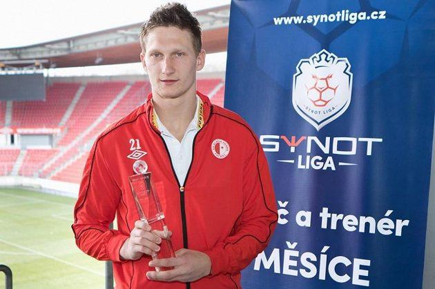 Slávistický kanonýr Milan Škoda se stal hráčem měsíce února.