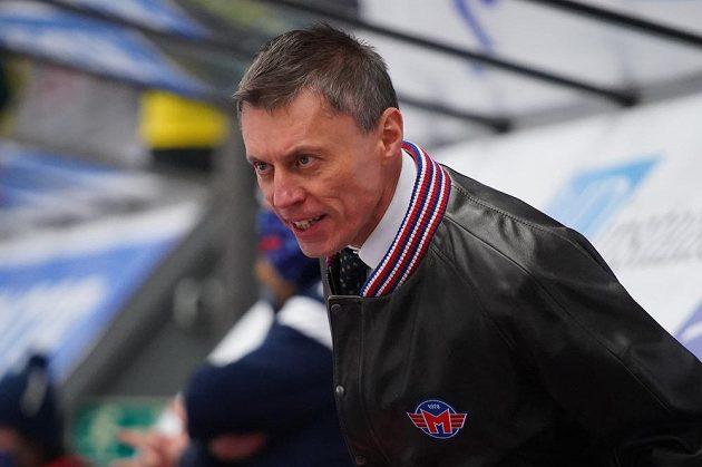 Trenér Českých Budějovic Aleš Totter.