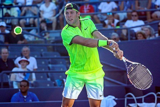 Jack Sock na US Open.