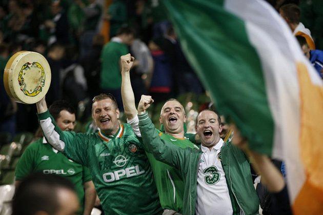 Fanoušci Severního Irska se radují z postupu na ME.