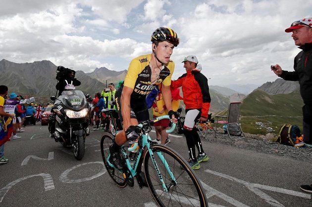 Primož Roglič vybojoval etapové vítězství na Tour.
