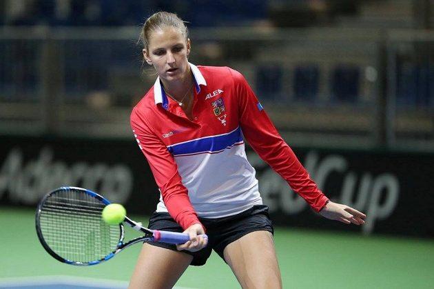 Karolína Plíšková bude v Lucernu českou jedničkou.