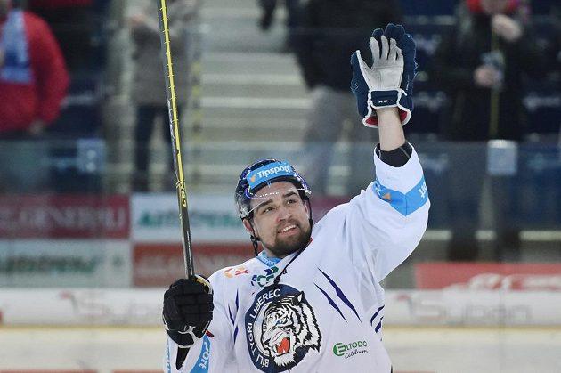 Lukáš Krenželok, autor rozhodujícího druhého gólu proti Vítkovicím.