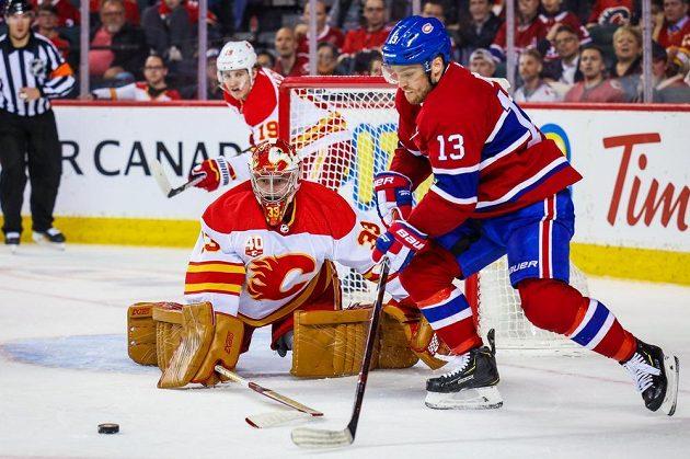 David Rittich porážce Calgary s Montrealem nezabránil