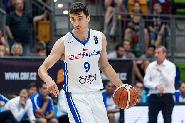 Český basketbalista Jiří Welsch.