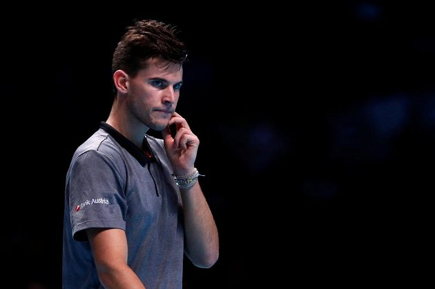 Dominic Thiem was hard on Federer's weapon