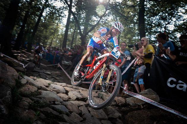 Biker Ondřej Cink v reprezentačním dresu.