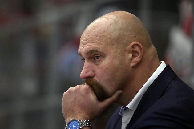 Zachmuřený trenér Brna Libor Zábranský.
