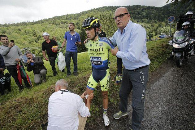 Po desáté etapě je Tour také bez Španěla Alberta Contadora.