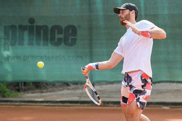 Martin Havlát při turnaji osobností v Berouně.
