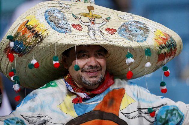 Fanoušek Mexika.