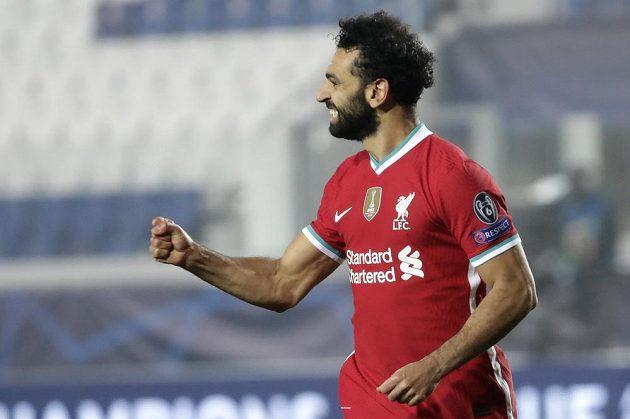 Ke kanonádě Liverpoolu v Itálii přispěl jednou trefou i kanonýr Mohamed Salah.