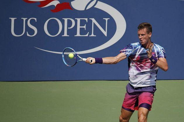 Česká jednička na US Open prošla hladce přes amerického mladíka Bjorna Fratangela.