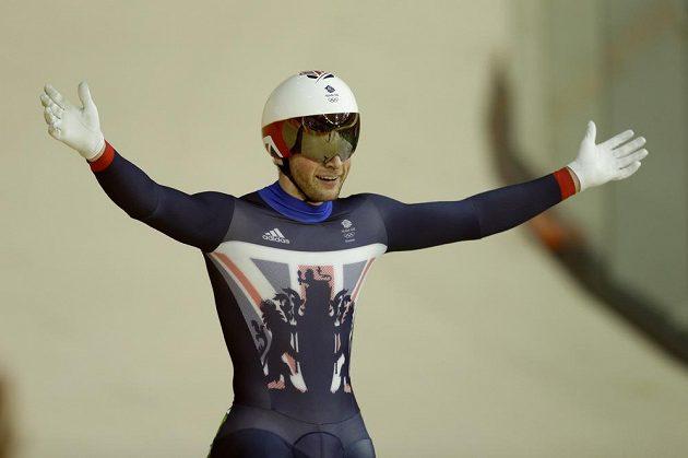 Jason Kenny získal v Riu už třetí zlatou medaili.