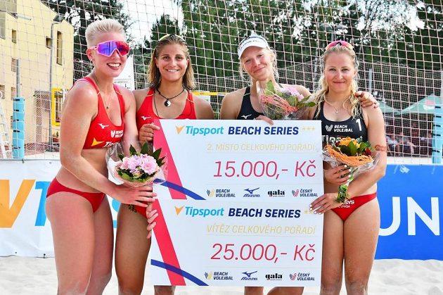 V posledním díle Tipsport Beach Series triumfovala dvojice Michaela Kubíčková s Michalou Kvapilovou, když ve finále porazily Marii Sáru Štochlovou s Martinou Maixnerovou.