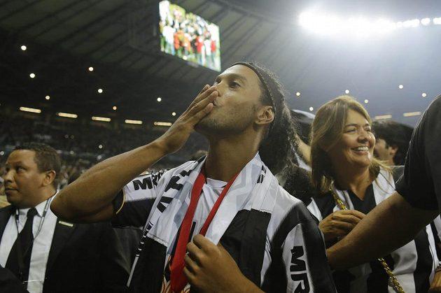Největší hvězda Mineira Ronaldinho.