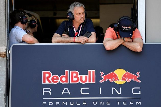 José Mourinho jako host Red Bullu.