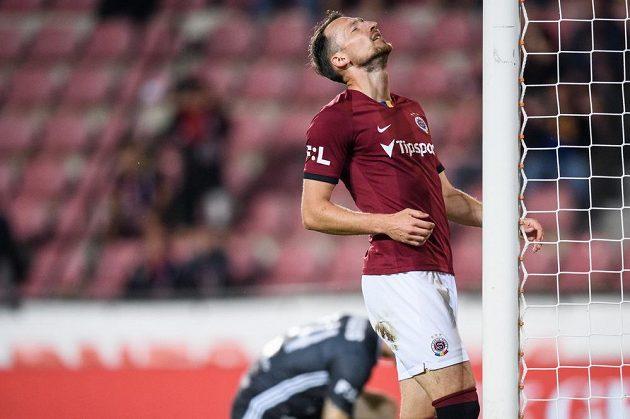 Libor Kozák ze Sparty Praha během utkání 2. kola Fortuna ligy.