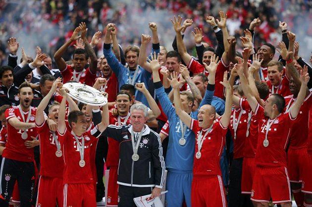 Bayern je znovu bundesligovým mistrem.