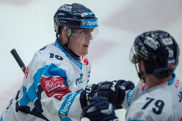 Autor prvního gólu Marek Kvapil z Liberce.